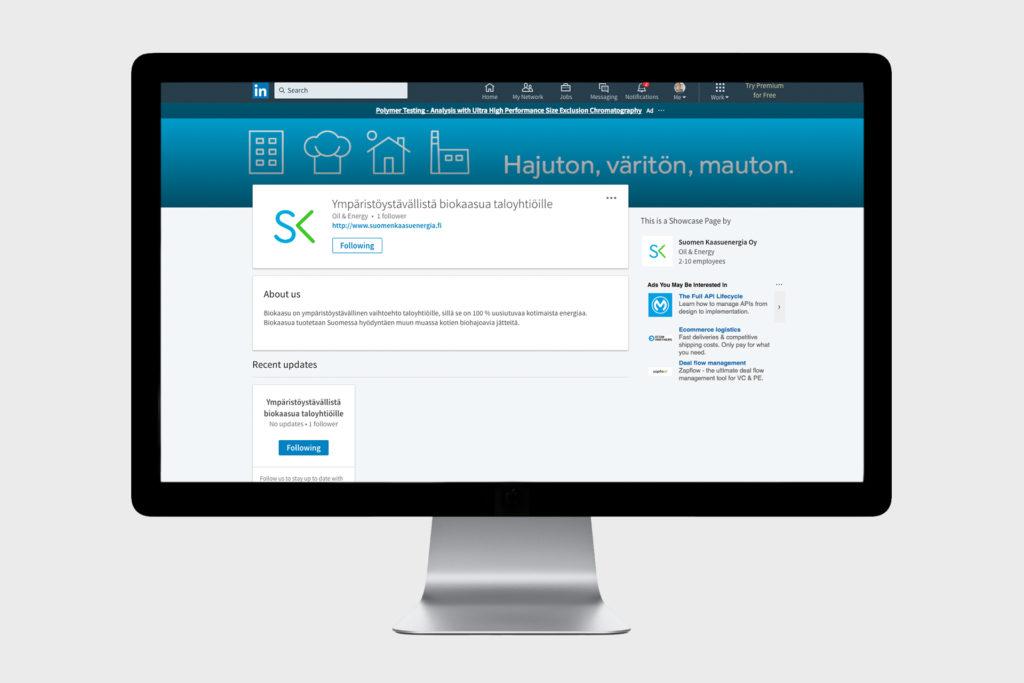 Suomen Kaasuenergia LinkedIn