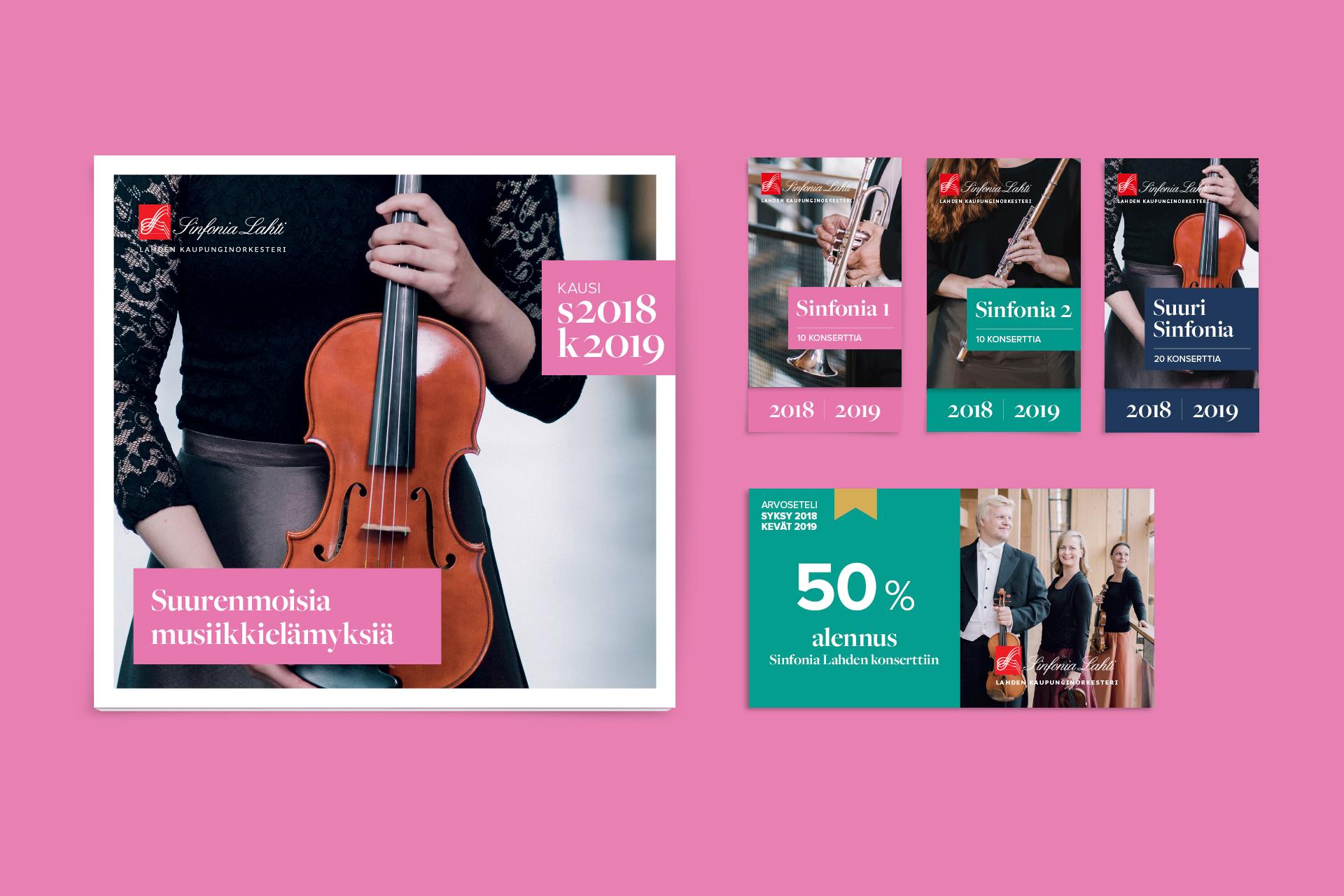 Sinfonia Lahti kausiohjelma
