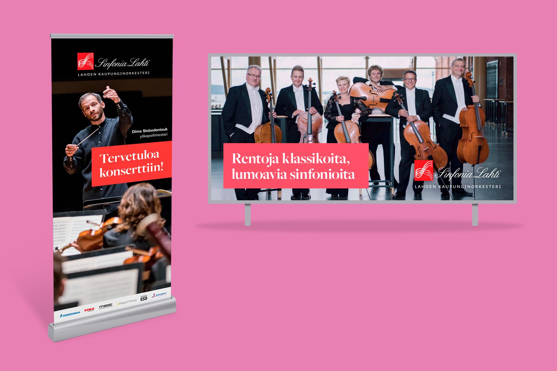 Sinfonia Lahti mainos