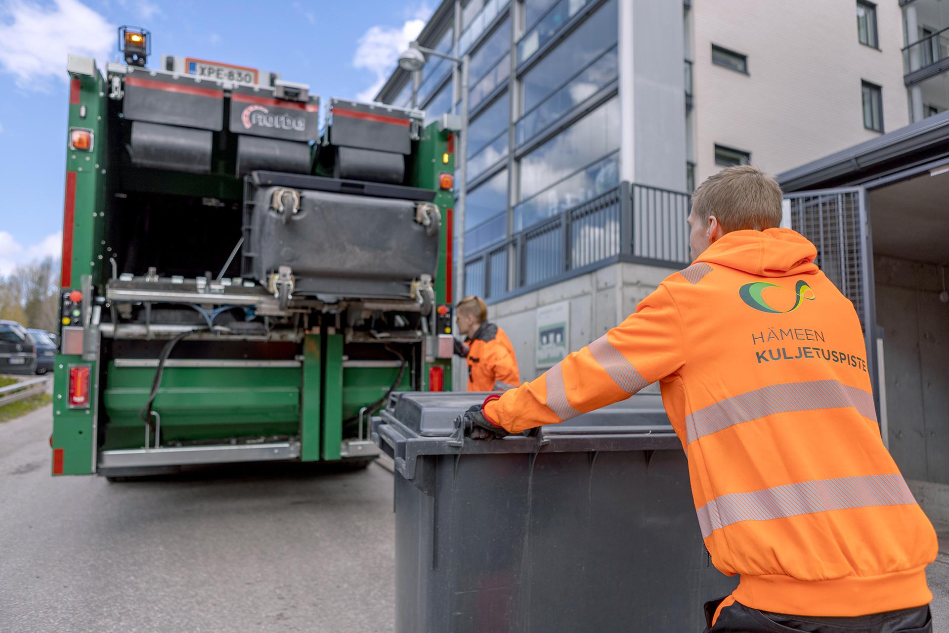 Hämeen Kuljetuspiste jätteenkuljetus