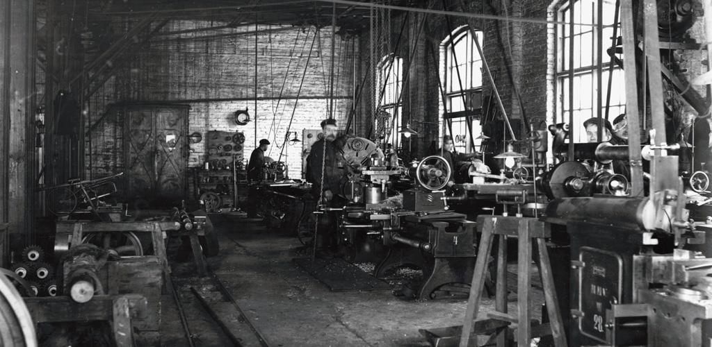 Rauten konepaja, joka on nykyään Näkemystehdas MBE:n toimisto.