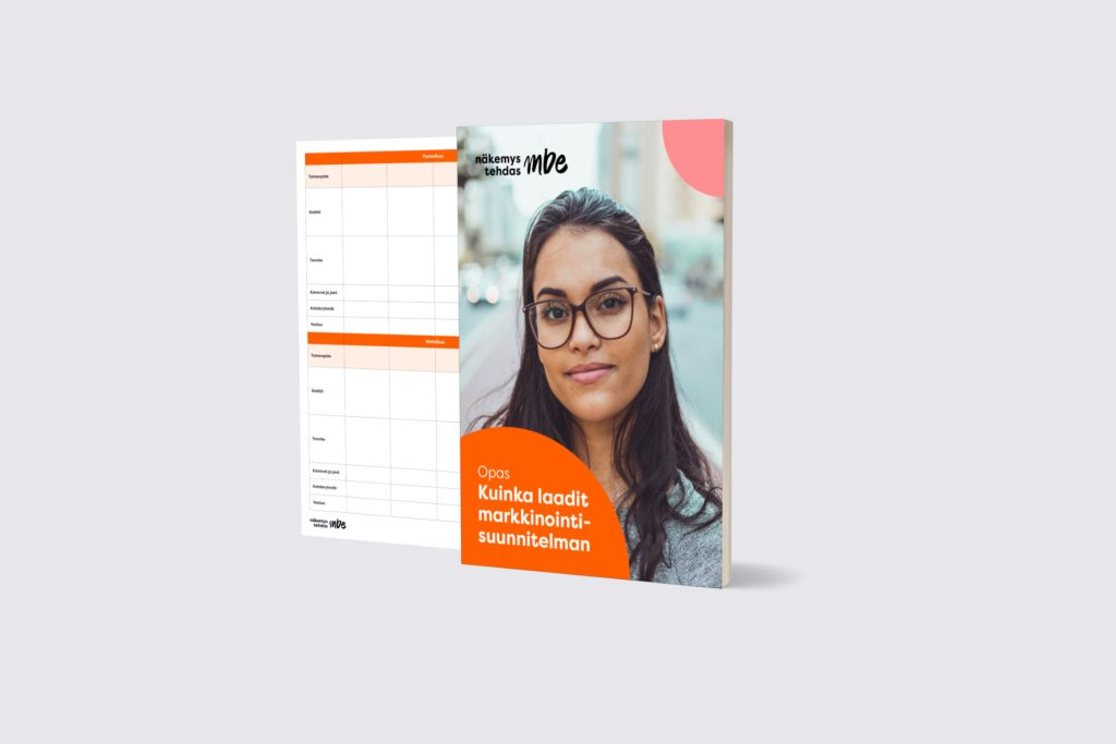 Markkinointisuunnitelmaopas | Näkemystehdas MBE