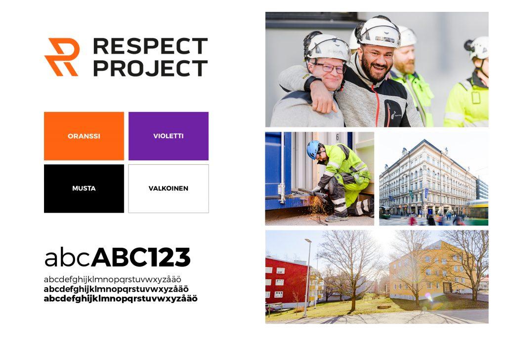Respect Project visuaalinen ilme