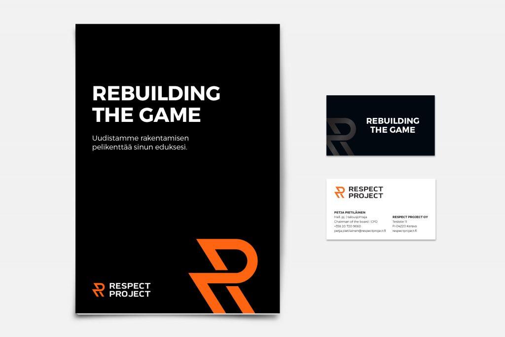 Respect Project markkinointimateriaalia