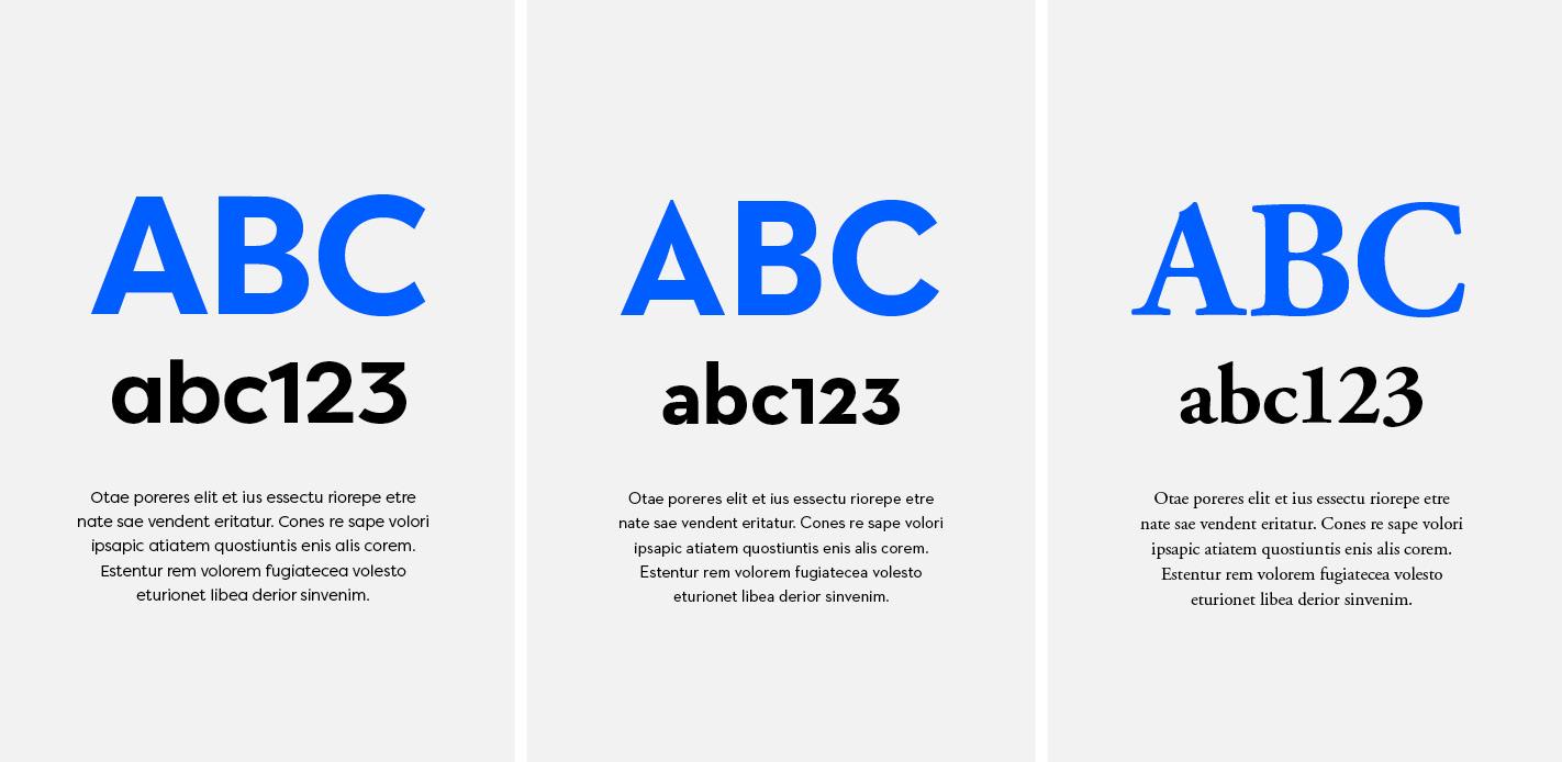 Verkkosivun typografia